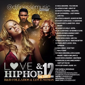 """Image of LOVE & HIP HOP MIX VOL. 12 """"2000s EDITION"""" (R&B COLLABOS)"""