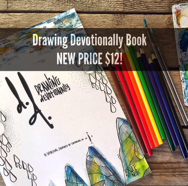 Image of Drawing Devotionally Colouring in Book for Adults