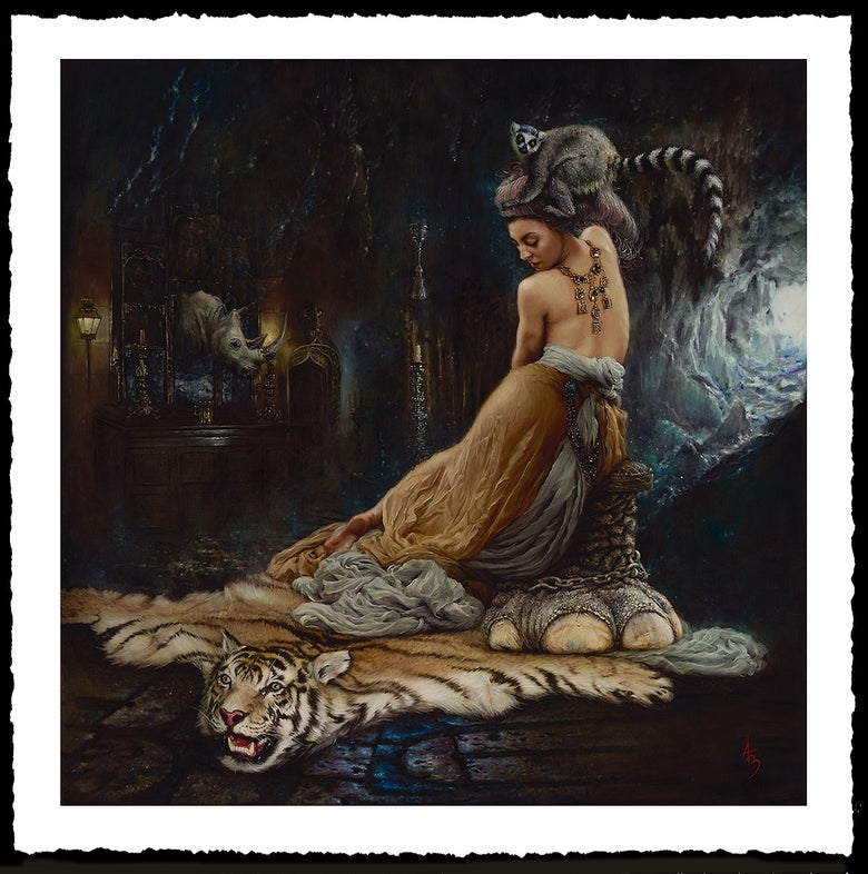 Image of Alexandra Manukyan 'Trophies of Destruction' Giclée Fine Art Print