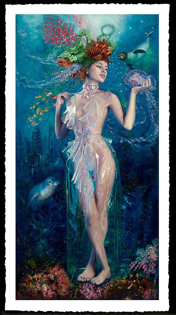 Image of Alexandra Manukyan 'Karmas Embrace'  Giclée Fine Art Print
