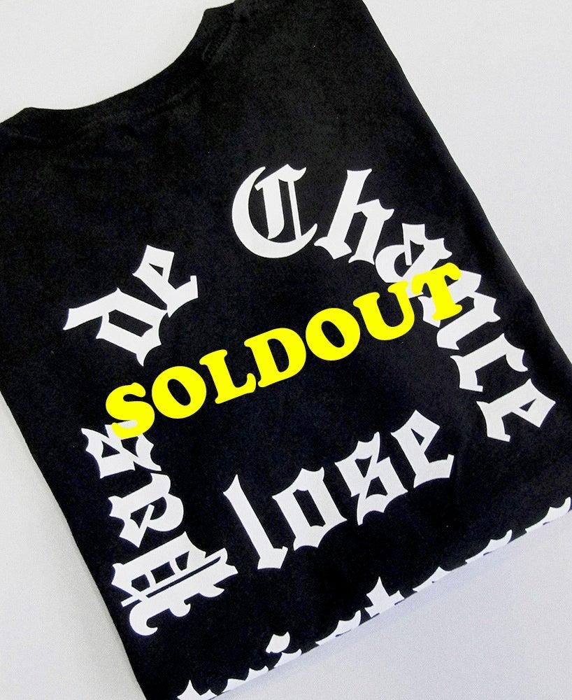 """Image of T Shirt """"Pas de chance"""" Black"""