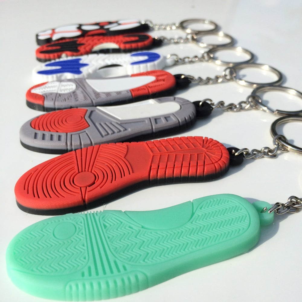 Image of Sole Sneaker Keychains