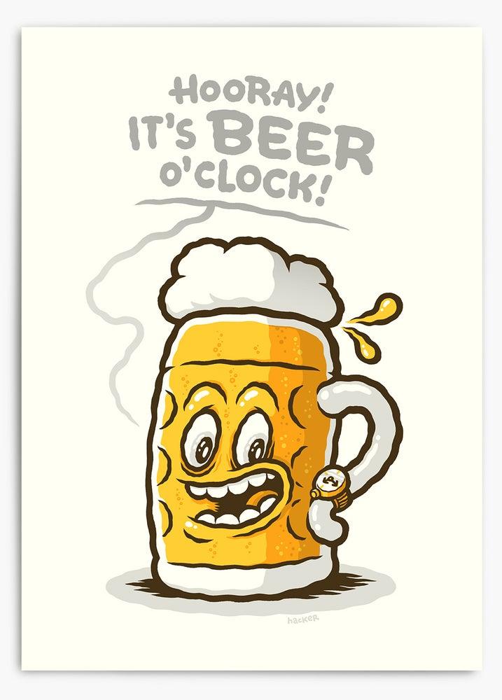 Image of Hooray! It's Beer O'Clock!