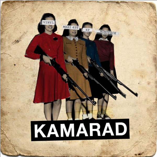 Image of KAMARAD - First EP I COMPACT DISQUE