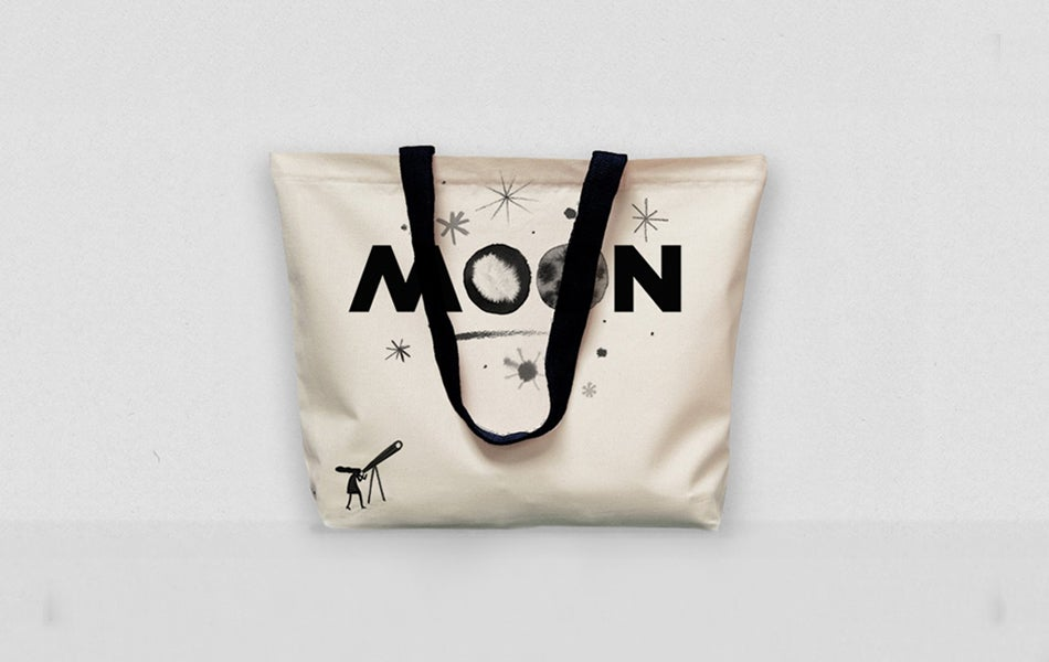 Image of Moon Limited Edition Tote