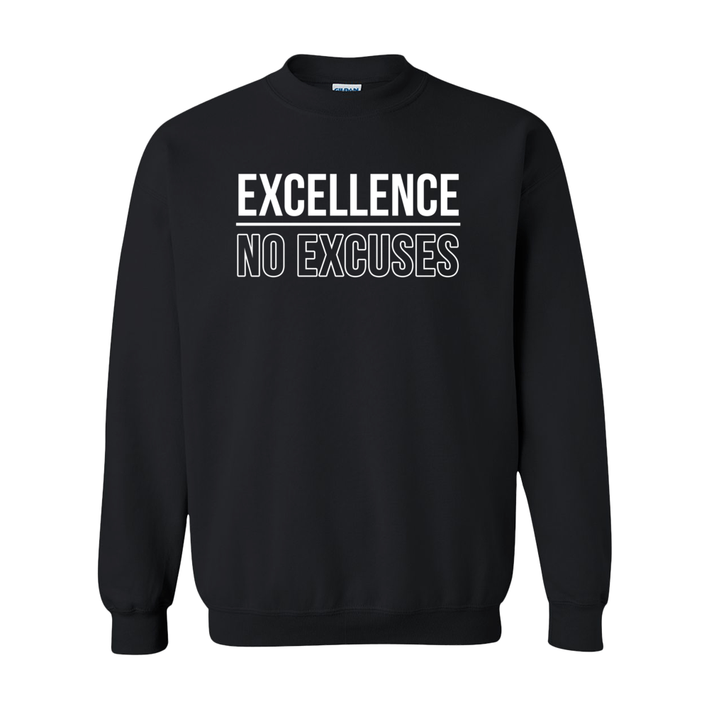 Image of Excellence No Excuses Crew Neck