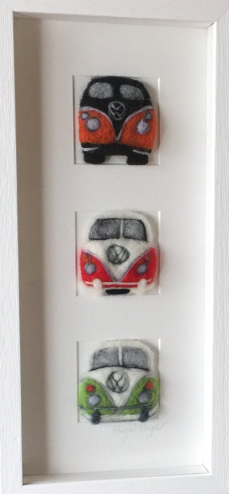 """Image of """"Three in a Box VW Campervan"""""""