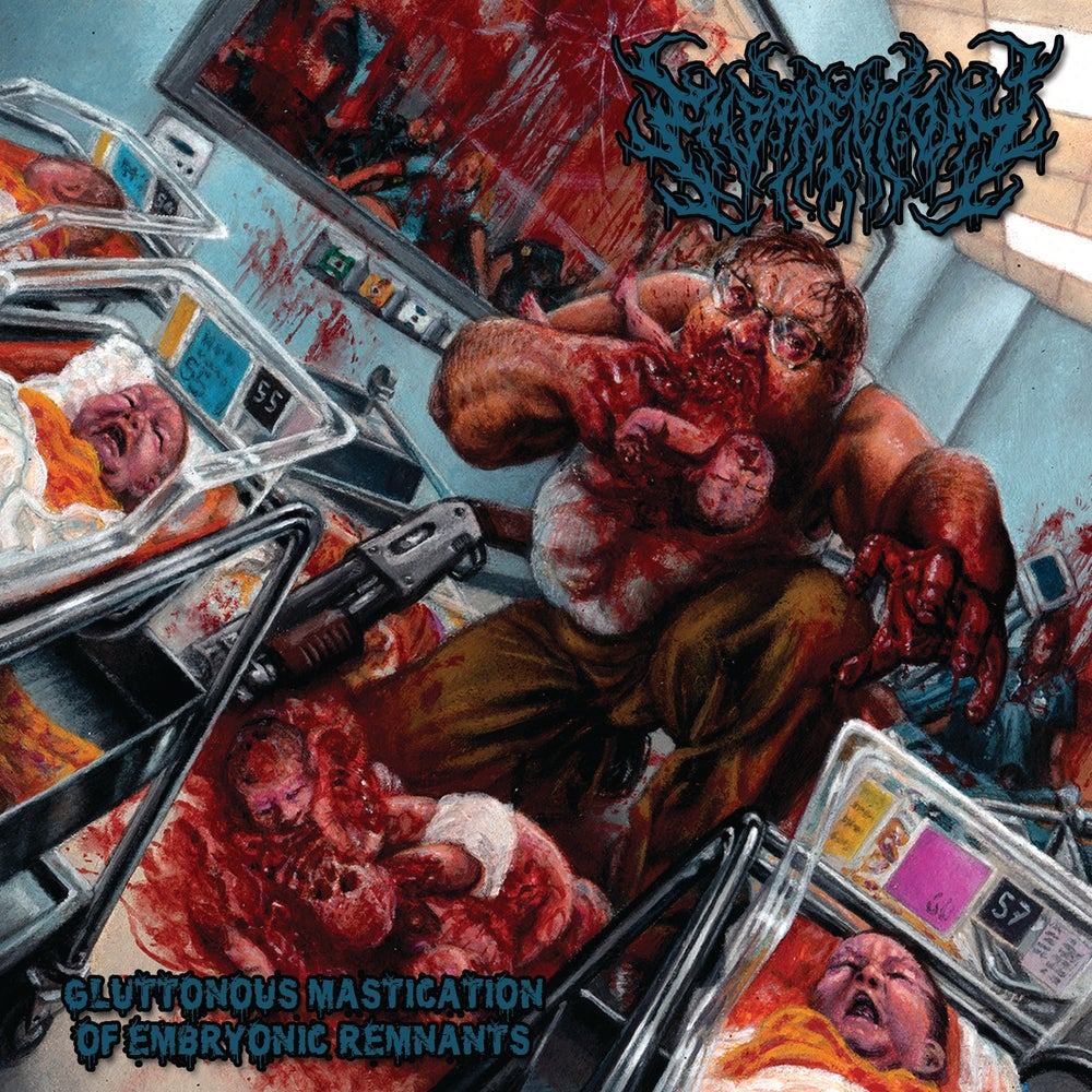 "Image of ""Gluttonous Mastication of Embryonic Remnants"" full length album"