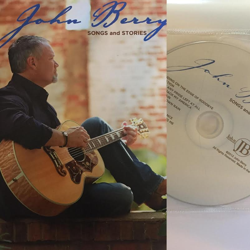 Image of John Berry Songs and Stories book w/CD