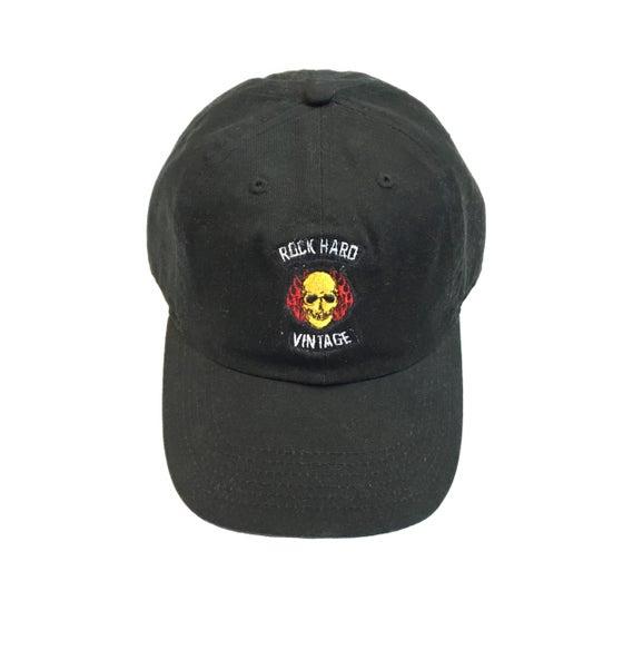 """Image of Rock Hard Vintage """"Skull"""" Dad Hat"""