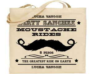 Image of Dirty Sanchez Tote Bag