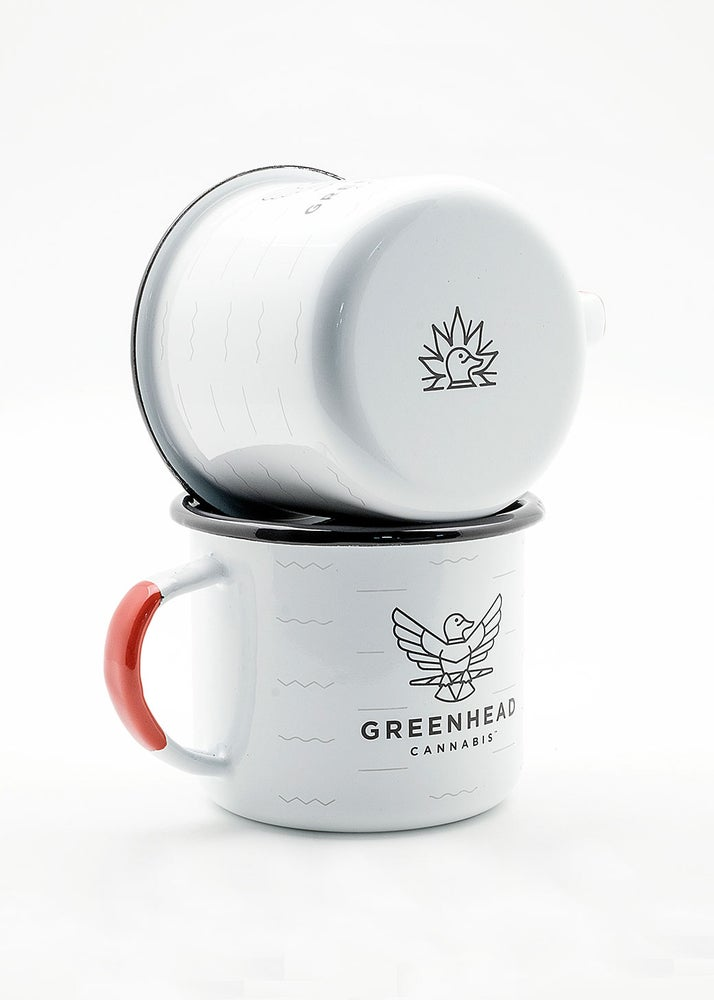 Image of Greenhead Enamel Camp Mug