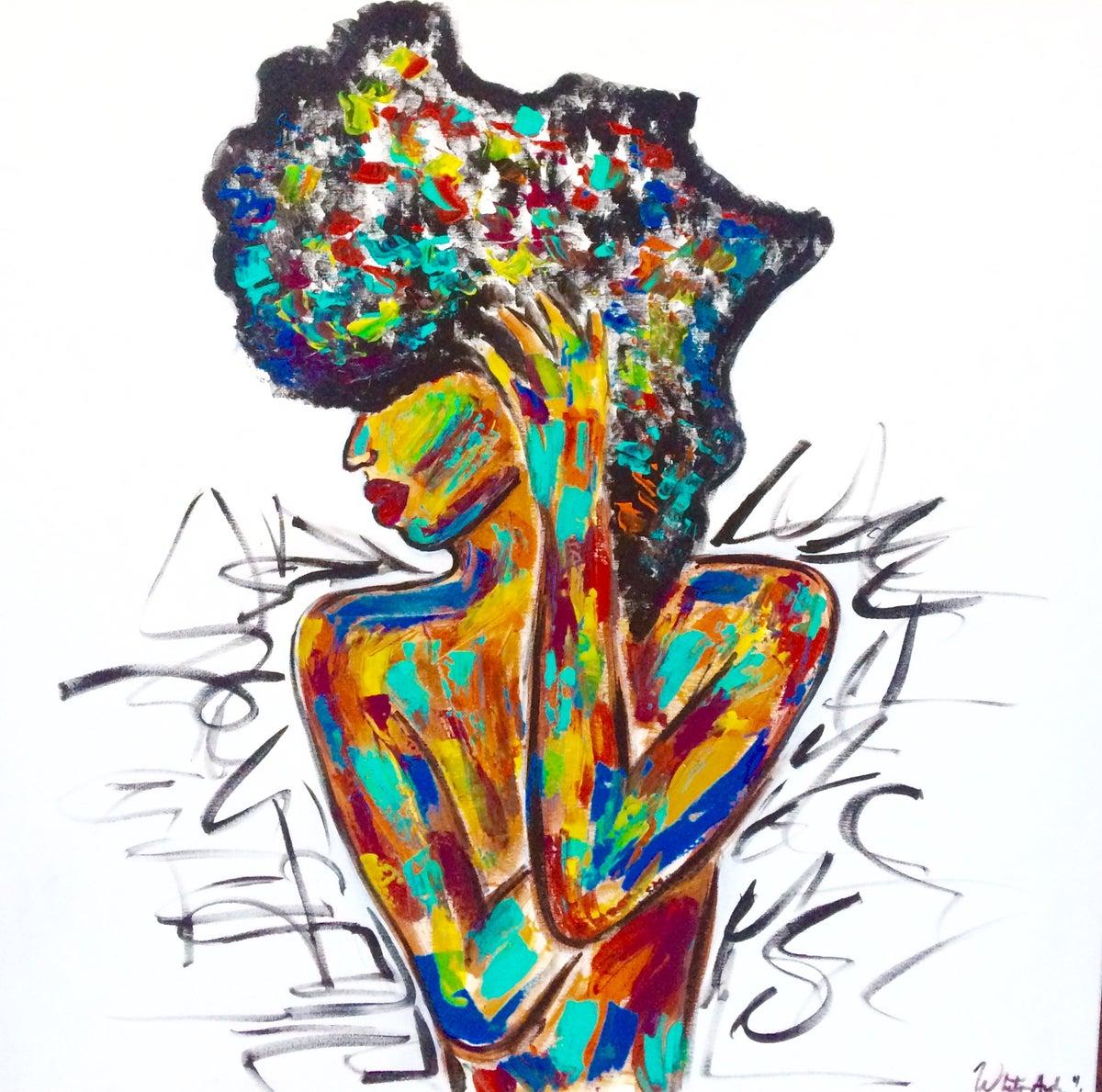 Image of AFRIKA print