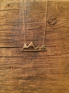 Image of Lette ~ Mountain Pendant