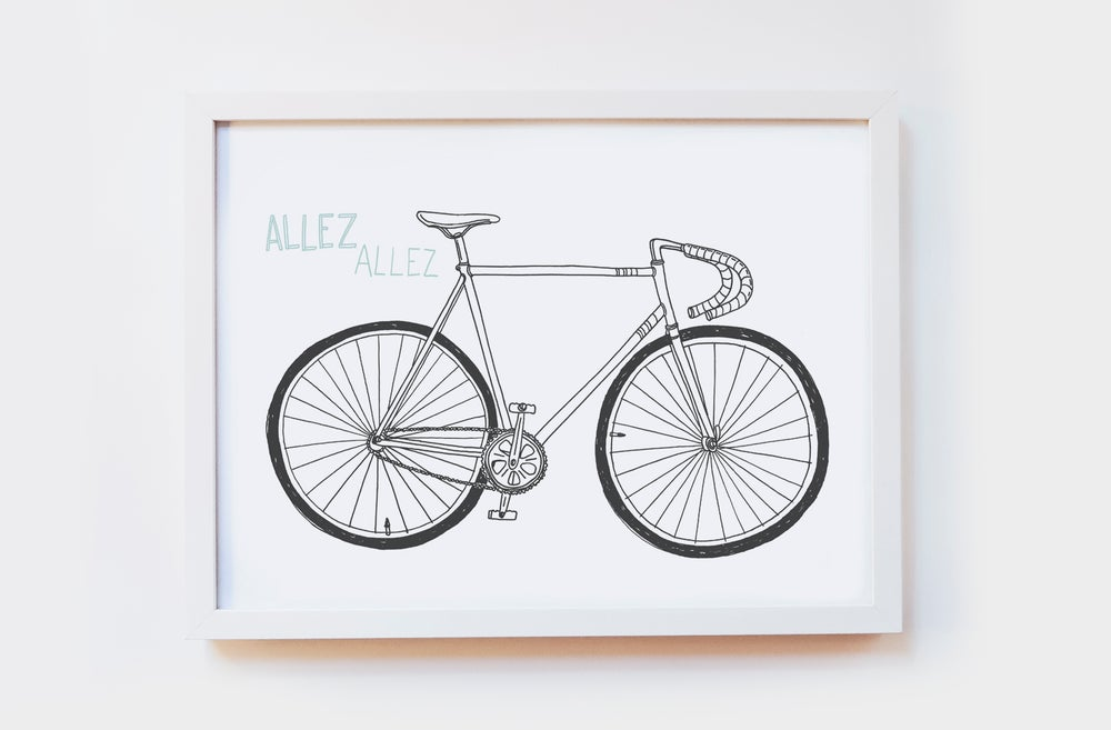 Image of Allez Allez Art Print