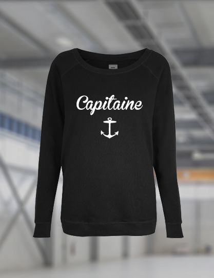 Image of Pull Femme Capitaine Ancre