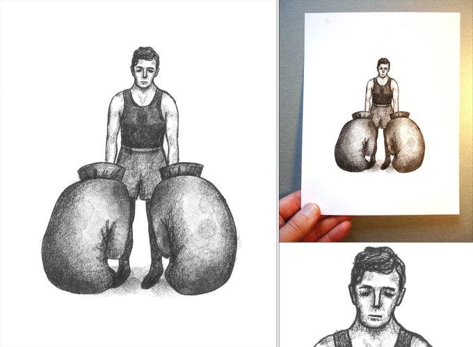 Image of Keaton boxeur