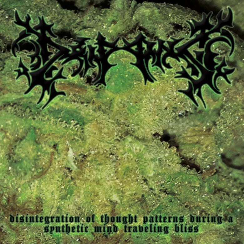 Image of DRIPPING - DISINTEGRATION OF THOUGHT PATTERNS... CD IN STOCK