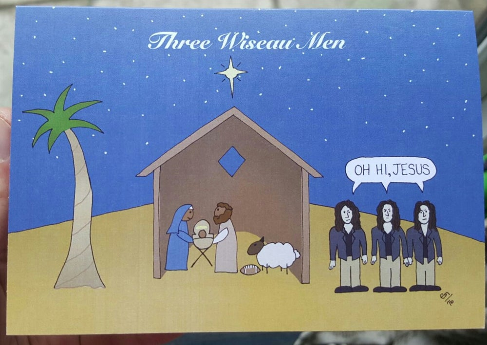 Image of Three Wiseau Men Card Pack