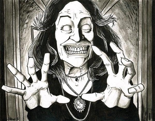Image of 'Evil Dead: Cheryl' Original Painting