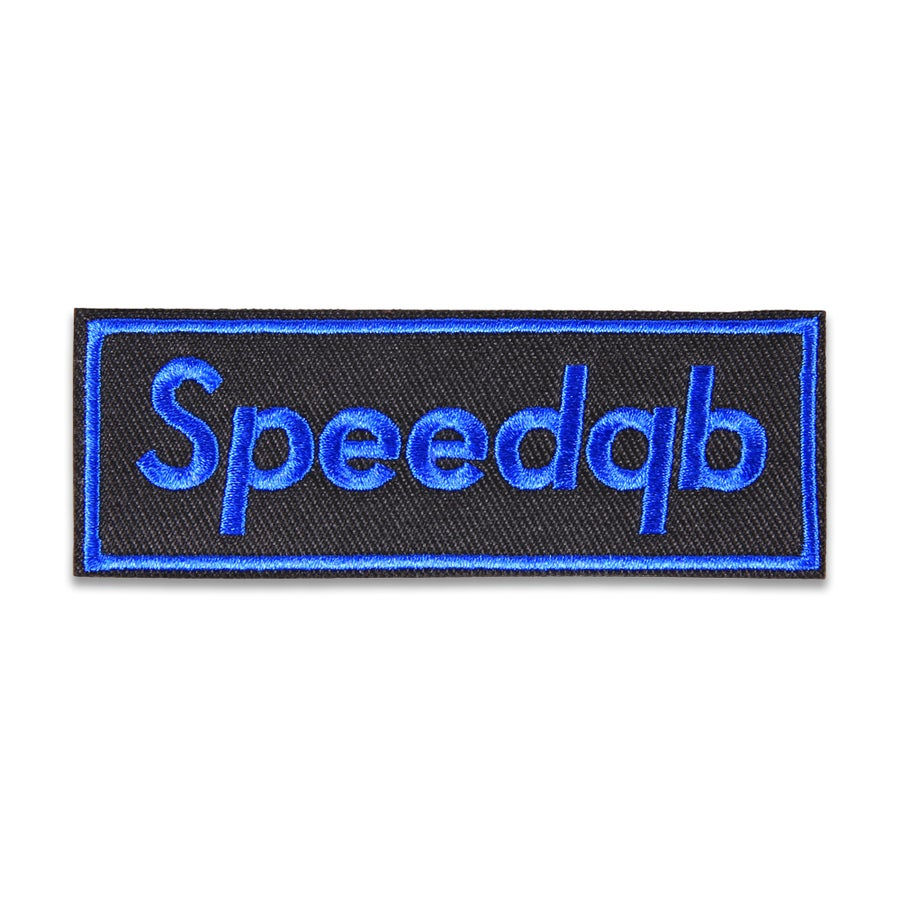 Image of SpeedQB Box Logo Patch - Royal