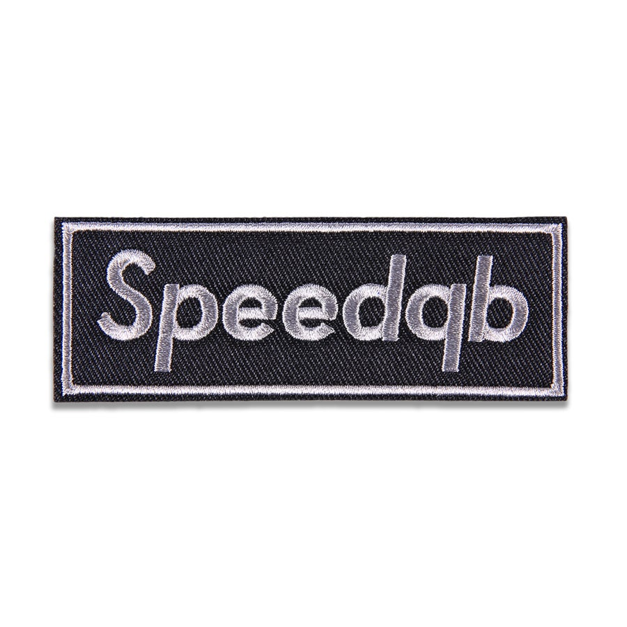 Image of SpeedQB Box Logo Patch - Shadow