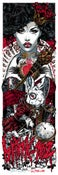 Image of BLINK-182 gigposter - QUEEN OF HEARTS