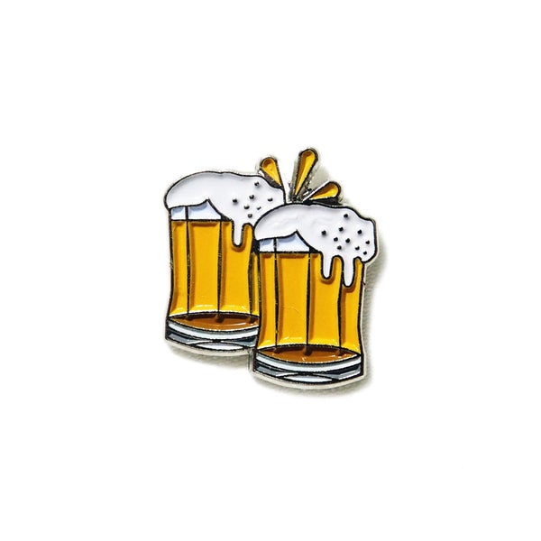 Image of Cheers! Beer - Emoji Pin