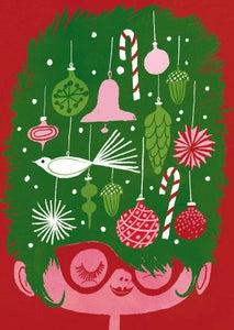 Image of Jingle Tangle -joulukortti, Kehvola