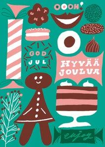 Image of Enjoy -joulukortti, Kehvola