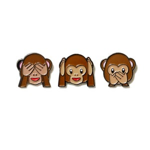 Image of See-hear-speak no evil Monkey