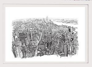 Image of Empire state of pen 2012 (unframed)
