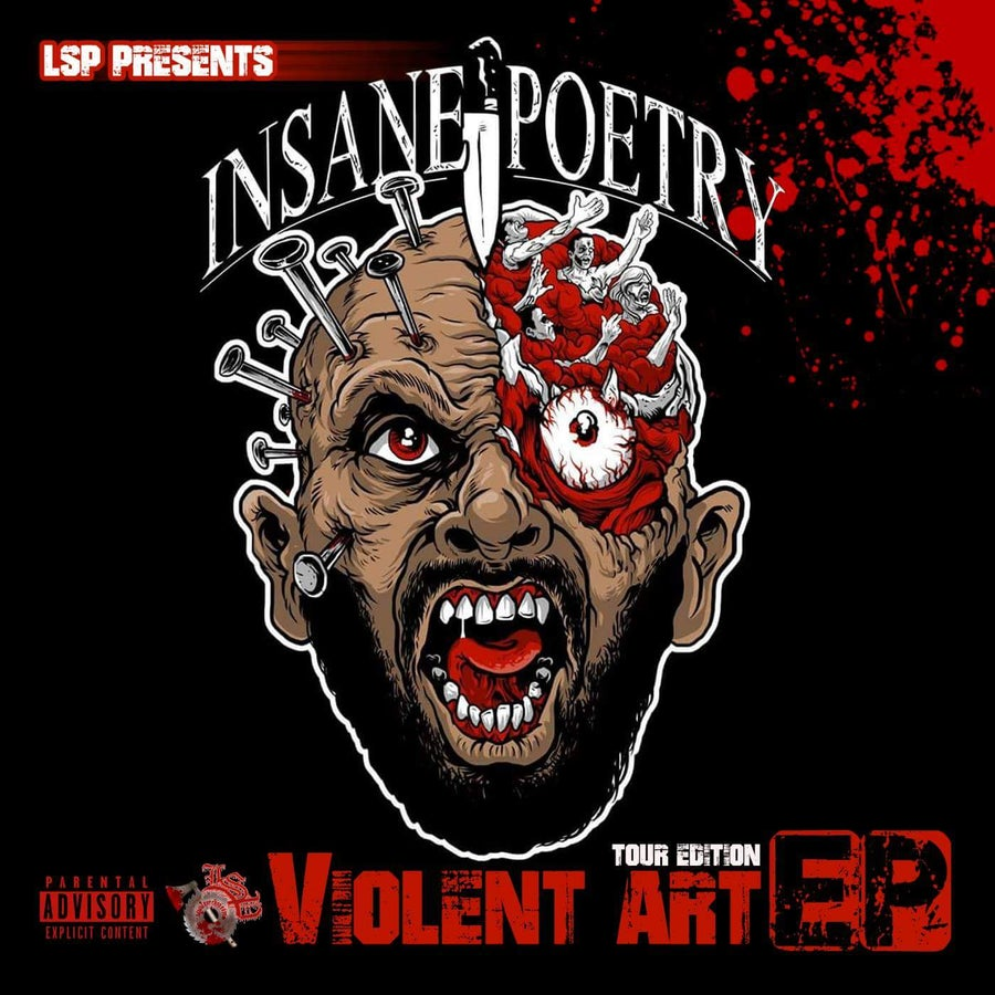 Image of INSANE POETRY - VIOLENT ART TOUR EP