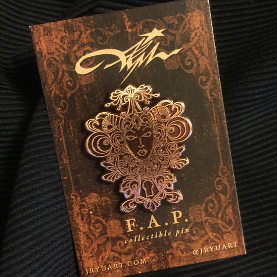 "Image of ""F.A.P"" Collectible Pin"