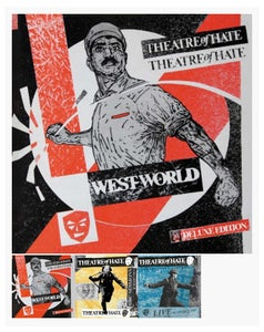 Image of THEATRE OF HATE 'Westworld' DELUXE BOX SET