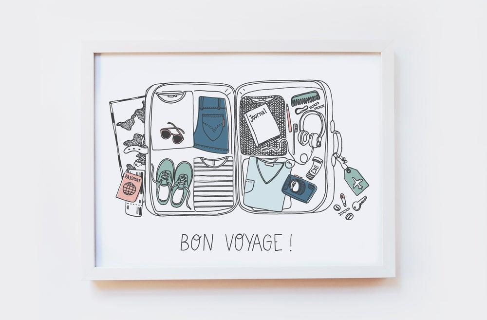 Image of Bon Voyage Art Print