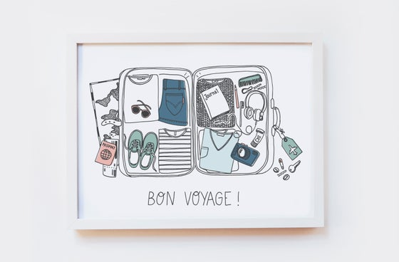 Image of Bon Voyage Art Print