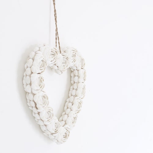 Image of Seashell Hanging Hearts