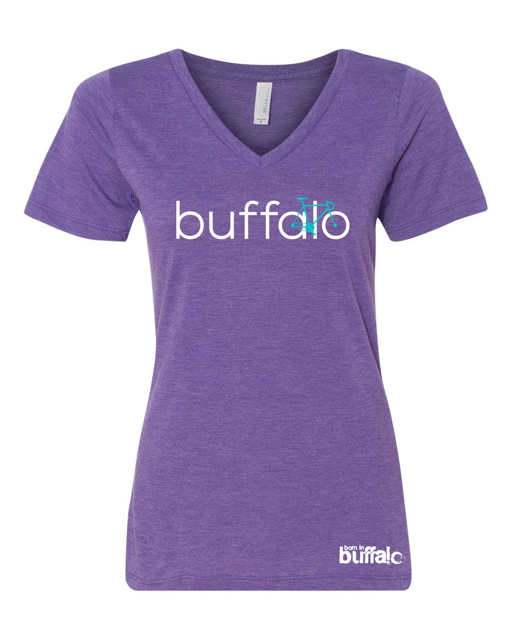 Image of BIKE Buffalo Ladies V-Neck