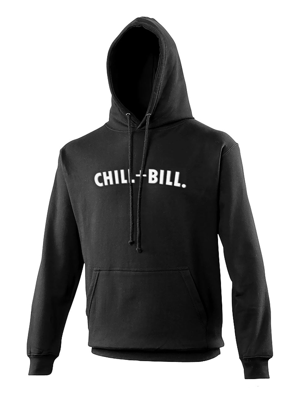 Image of Chill+Bill Hoodie in Black