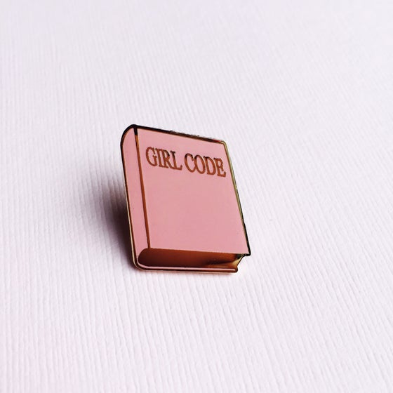 Image of Girl Code Enamel Pin
