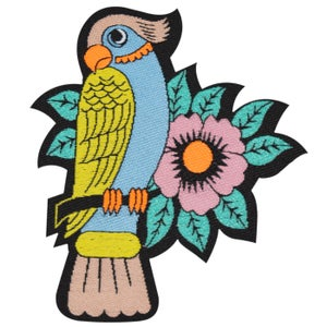 Image of Iron-on Parrot Patch