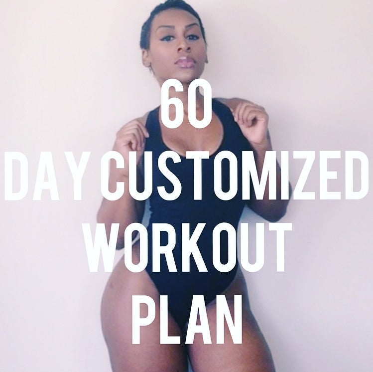 Image of 60 DAY CUSTOMIZED WORKOUT PLAN