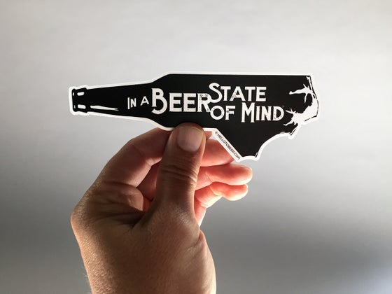 Image of In a Beer State of Mind Sticker