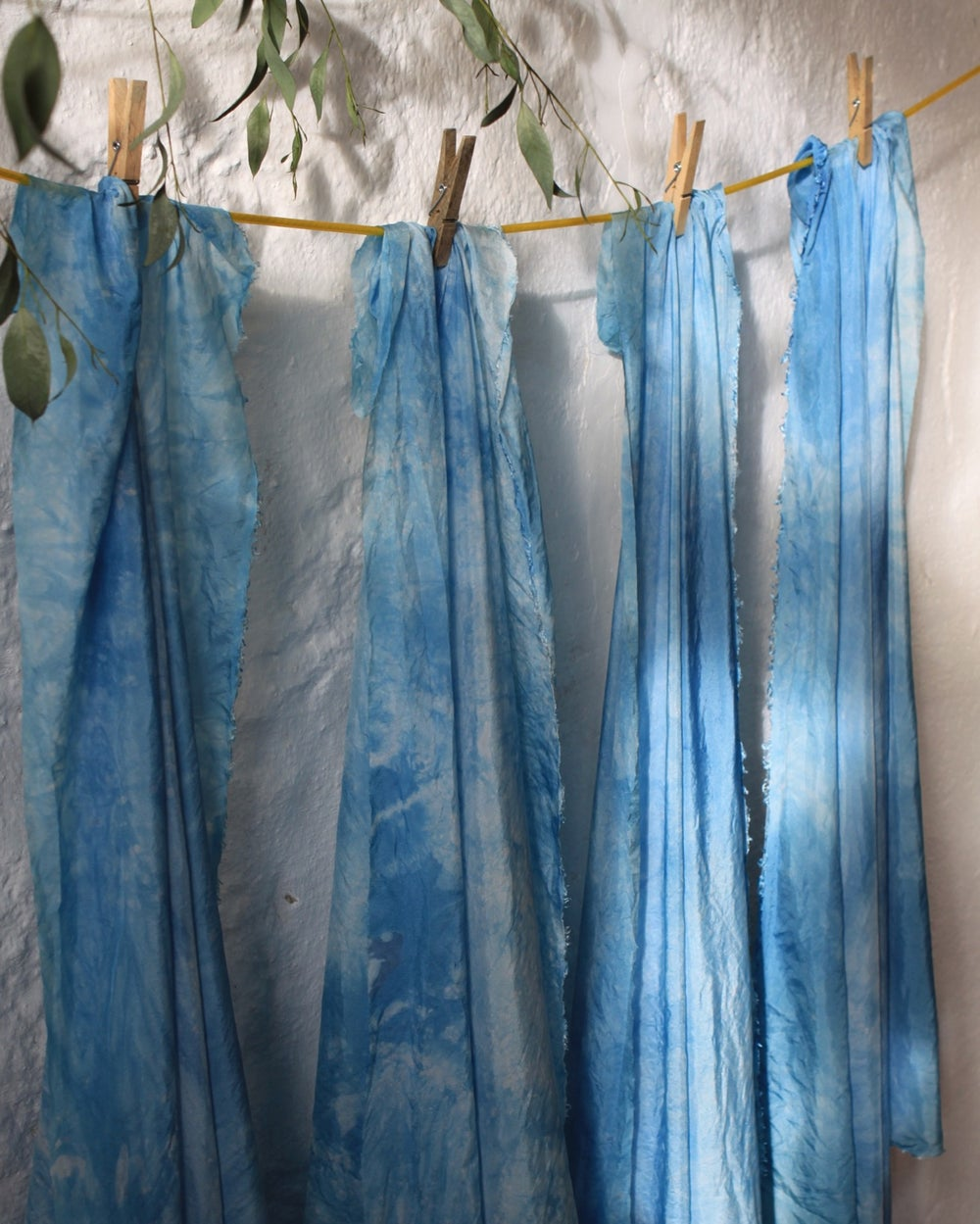 Image of Naturally dyed seasonal play silks - Winter