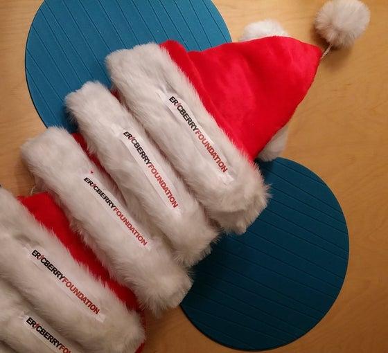 Image of Eric Berry Foundation Santa Hat