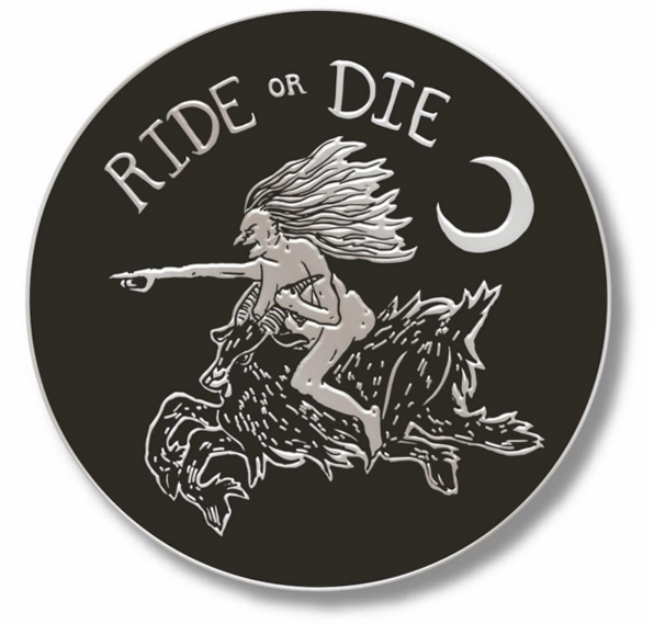 Image of Ride or Die Cloisonné Pin