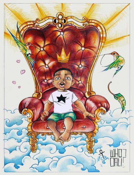 Image of King Tot Print by Airborne Sun