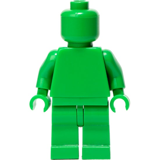 Image of BRIGHT GREEN MONOFIG