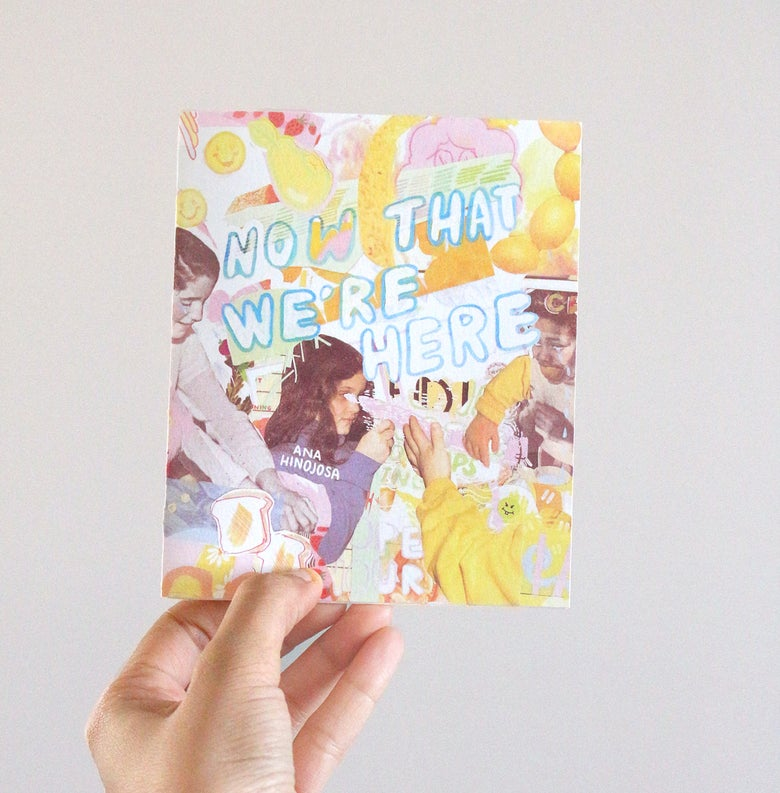 "Image of ""Now That We're Here"" Sketchbook Zine"